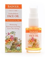 Badger - Face Oil Seabuckthorn - 1 oz.