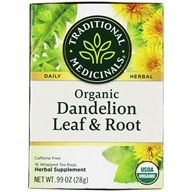 Traditional Medicinals - Organic Dandelion Leaf & Root