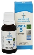 Numbered Compounds UNDA 5