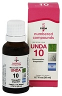 Numbered Compounds UNDA 10