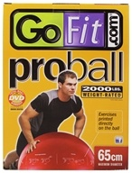 GoFit - Pro Ball Red - 65 cm.