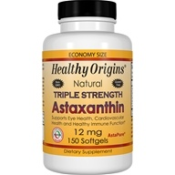 Healthy Origins - Natural Triple Strength Astaxanthin 12