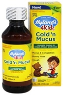 Hylands - 4 Kids Cold'n Mucus - 4