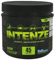 Muscle Gauge Nutrition - Intenze Pre-Workout Blue Raspberry