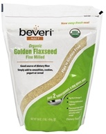 Beveri Nutrition - Organic Golden Flaxseed Fine Milled
