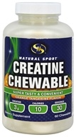 Natural Sport - Creatine Chewable Orange Tangerine -