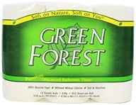 Green Forest - Premium Double-Roll Bathroom Tissue 100%