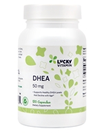 LuckyVitamin - DHEA 50 mg. - 120 Capsules