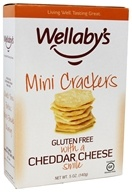 Wellaby's - Gluten Free Mini Crackers Cheddar Cheese