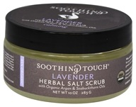 Organic Herbal Salt Scrub Calming