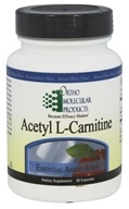 Ortho Molecular Products - Acetyl L-Carnitine - 60
