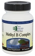 Ortho Molecular Products - Methyl B Complex -