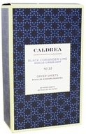 Caldrea - Dryer Sheets Black Coriander Lime -