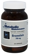 Metabolic Maintenance - Bromelain 750 mg. - 60