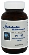 Metabolic Maintenance - PS-100 Phosphatidylserine 100 mg -