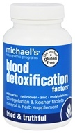 Michael's Naturopathic Programs - Blood Detoxification Factors -