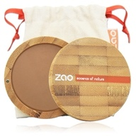 Zao Organic Makeup - Compact Powder Milk Chocolate