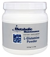Metabolic Maintenance - L-Glutamine Powder - 0.5 kg.