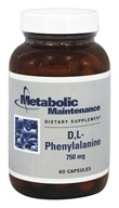 D, L-Phenylalanine 750 mg