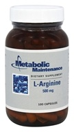 Metabolic Maintenance - L-Arginine 500 mg - 100