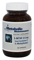 Metabolic Maintenance - 5-MTHF 2.5 mg from Extrafolate-S