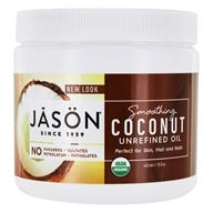 Jason Natural Products - Organic Smoothing Coconut Oil
