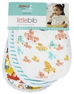 100% Cotton Muslin Little Bibs Zutano