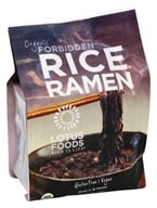 Organic Rice Ramen Black Rice Noodles 4 Pack