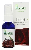 DROPPED: Siddha - Sidda Flower Essences + Cell Salts Heart Homeopathic Oral Spray - 1 oz.