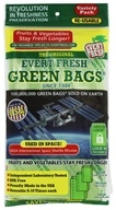 Evert-Fresh Green Bags Variety Pack (8 Small, 8 Medium, 4 Large)