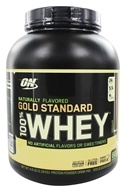 Optimum Nutrition - 100% Whey Gold Standard Natural Protein Chocolate - 4.8 lbs.