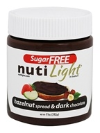 NutiLight - Sugar Free Hazelnut Spread & Dark