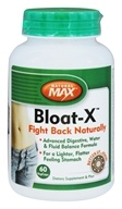 Natural Max - Bloat-X - 60 Vegetarian Capsules