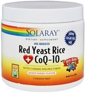 Solaray - Red Yeast Rice + CoQ-10 with