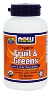 Organic Fruit & Greens
