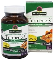 Nature's Answer - Turmeric-3 - 90 Vegetarian Capsules