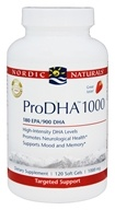Nordic Naturals Professional - ProDHA 1000 180 EPA/900 DHA Strawberry Flavor 1000 mg. - 120 Softgels