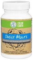 Color Earth - Daily Multi - 60 Capsules