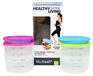 Healthy Living 1 Cup Smart Portion Containers