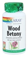 Solaray - Wood Betony 300 mg. - 100