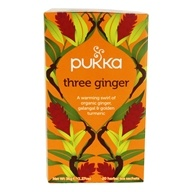 Pukka Herbs - Organic Herbal Tea Three Ginger
