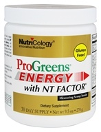 Nutricology - ProGreens Energy with NT Factor Powder