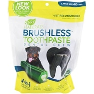 Breath-Less Chewable Brushless-Toothpaste For Large Dogs