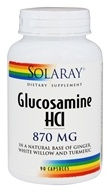 Solaray - Glucosamine HCl 870 mg. - 90