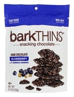 barkTHINS - Snacking Chocolates Dark Chocolate Blueberry Quinoa