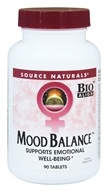 Source Naturals - Mood Balance - 90 Tablets