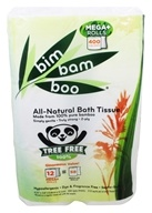 Ultra Green - Bim Bam Boo All-Natural Bath Tissue - 12 Roll(s)