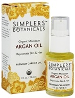 Simplers Botanicals - Organic Moroccan Argan Carrier Oil