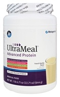 Metagenics - UltraMeal Advanced Protein French Vanilla Flavor