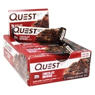 Quest Nutrition - Quest Bar Protein Bar Chocolate Brownie - 12 Bars
